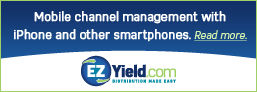 EZYield.com's SaaS-based Solution Compatible with iPhone